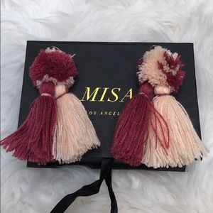 MISA Los Angelos tassel earrings